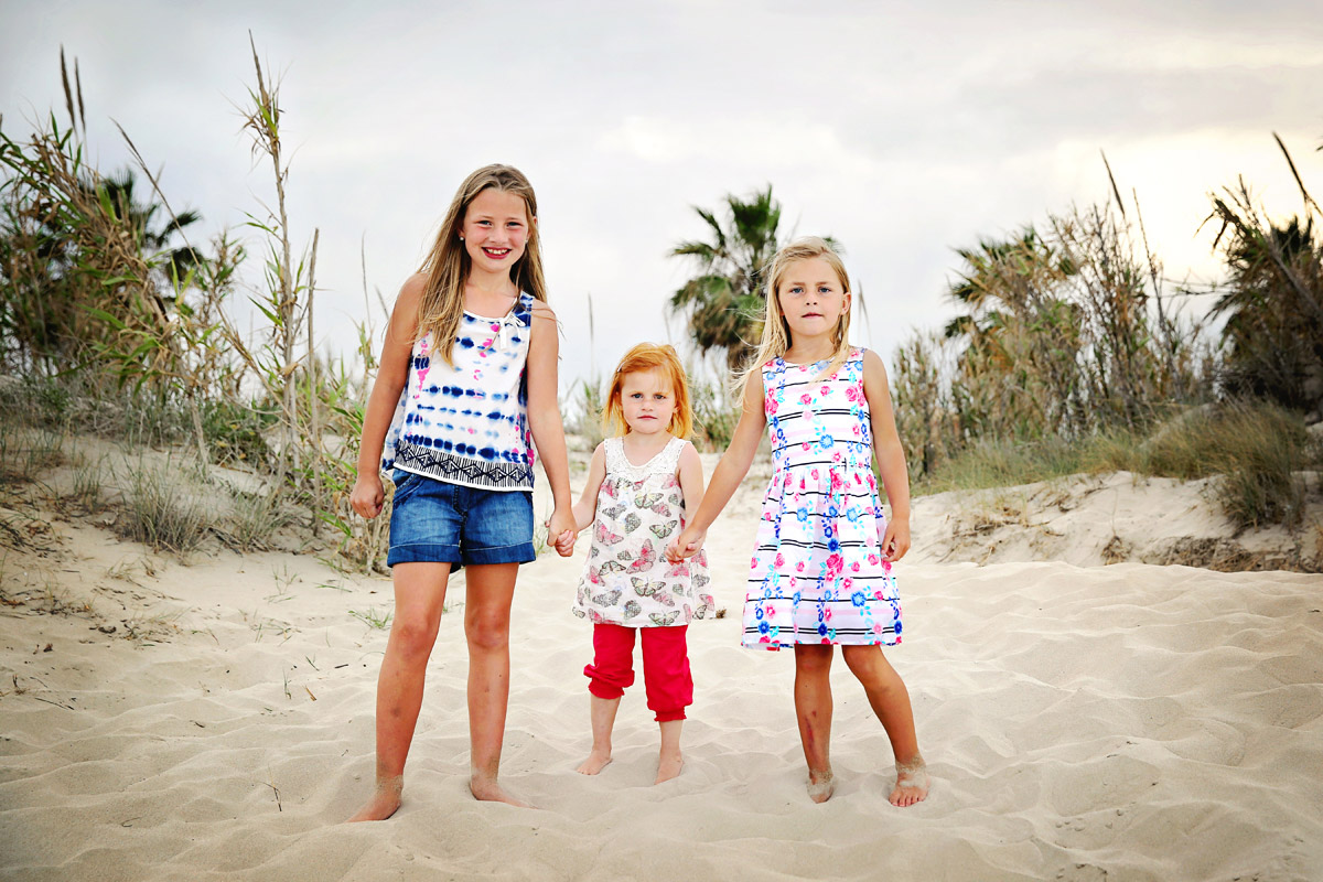 Family photography on beach in Spain Murcia Costa Blanca