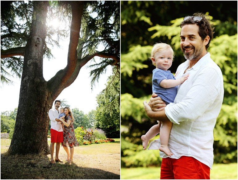 parents and baby photography at kew gardens london