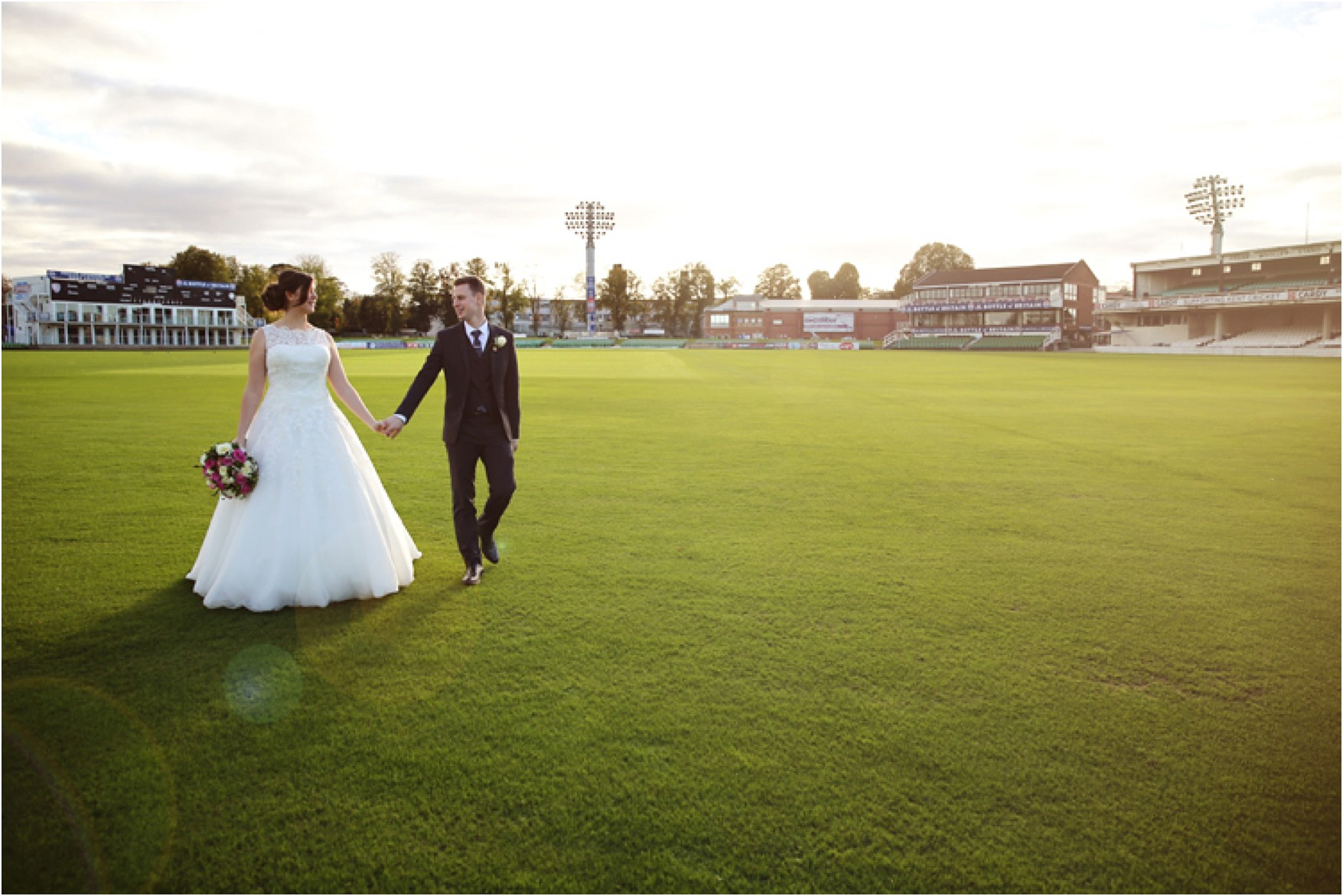 Kent County Cricket Ground Canterbury Wedding
