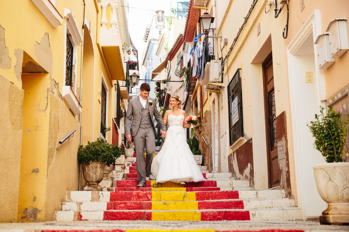 COSTA BLANCA WEDDING PHOTOGRAPHY SOL Y MAR CALPE SPAIN