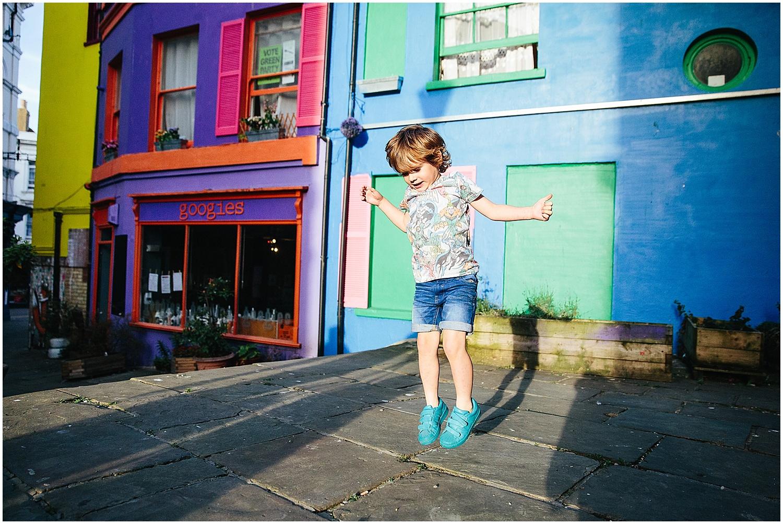boy jumping family photographer folkestone kent