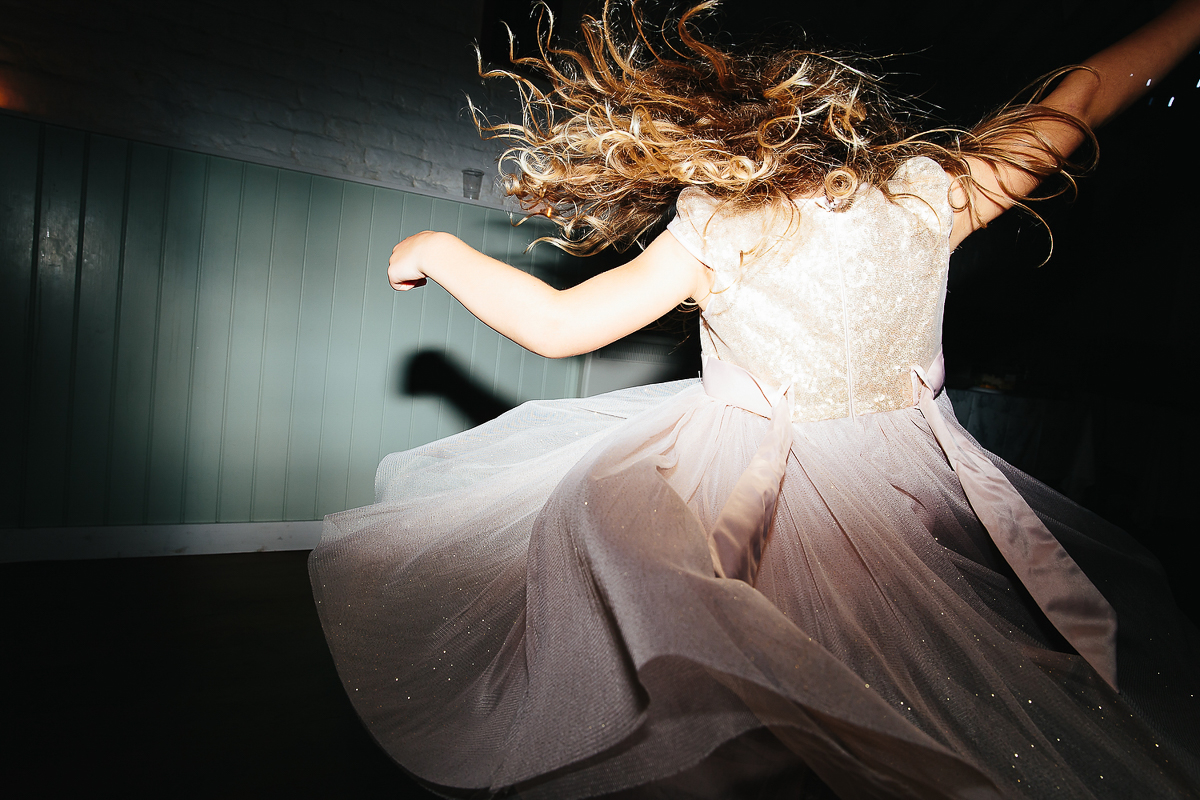 BRIDESMAID DANCING WEDDING PHOTOGRAPHY KENT