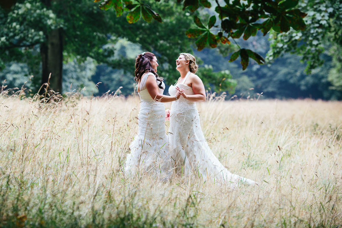 LESBIAN GAY WEDDING PHOTOGRAPHY TWO BRIDES