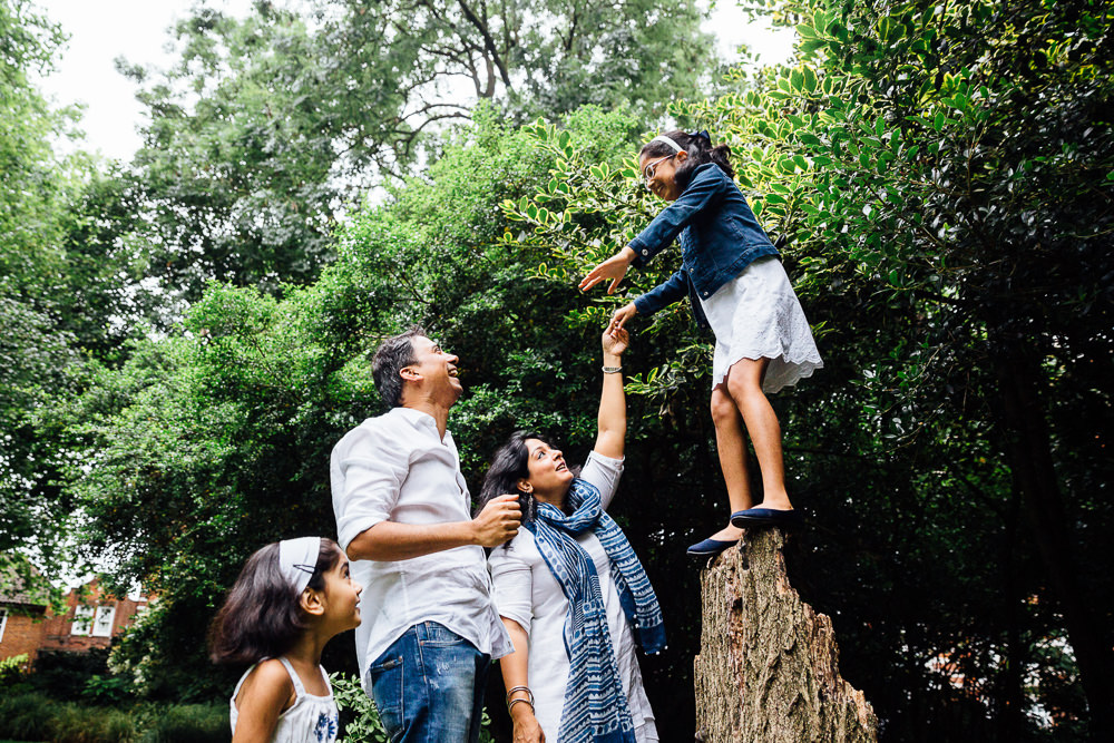 FAMILY AND CHILDRENS PHOTOGRAPHER ST JOHNS WOOD LONDON, PLAYING IN THE PARK