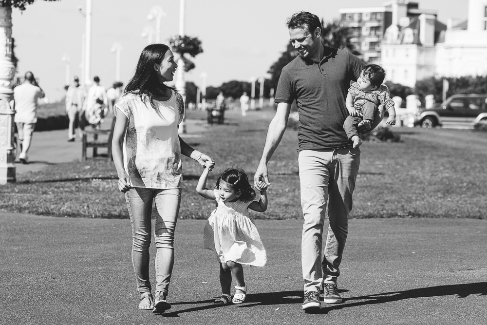 family photography on the leas, bandstand, folkestone, kent