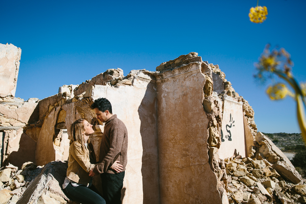 MURCIA COSTA BLANCA WEDDING PHOTOGRAPHER - MOUNTAINS ENGAGEMENT SHOOT COUPLE WITH DOG