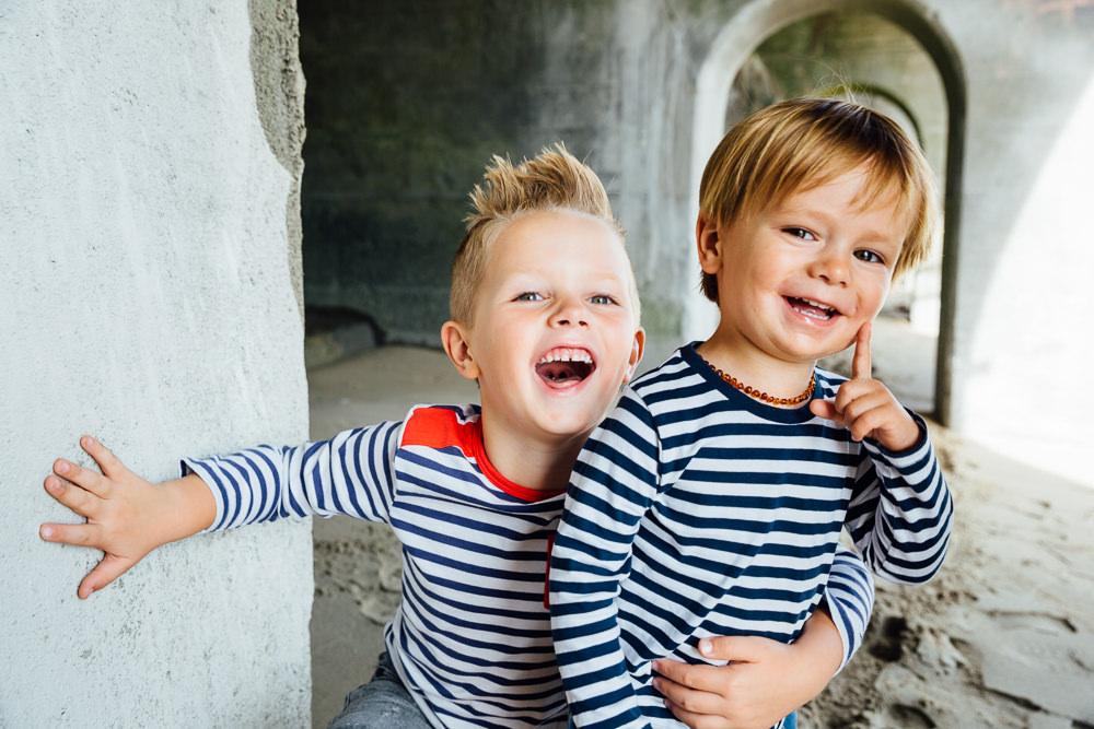 Little boys brothers portrait - Family Photographer Kent