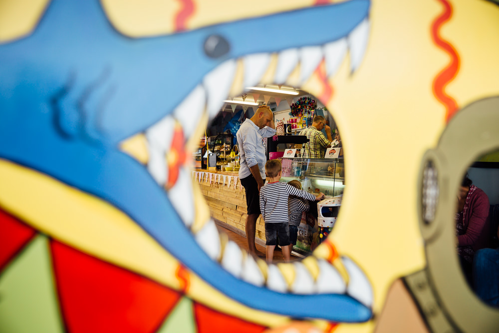 boys buying ice cream - Family Photographer Kent