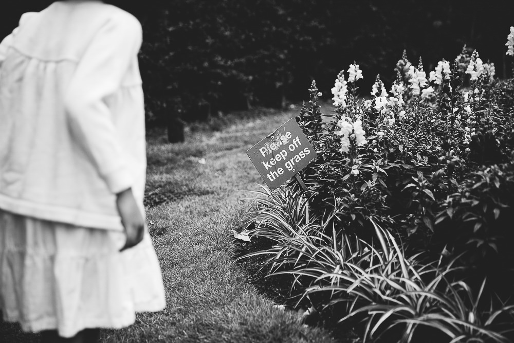 PLEASE KEEP OFF THE GRASS GIRL - KENT FAMILY PHOTOGRAPHER