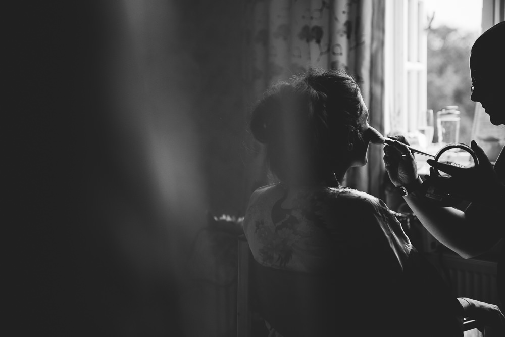 bridal prep - bilsington priory ashford kent wedding photographer