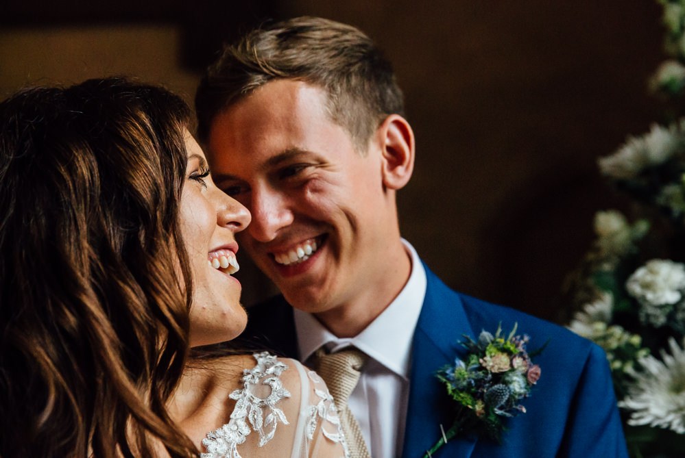 bride and groom indoor portraits bilsington priory kent wedding photographer