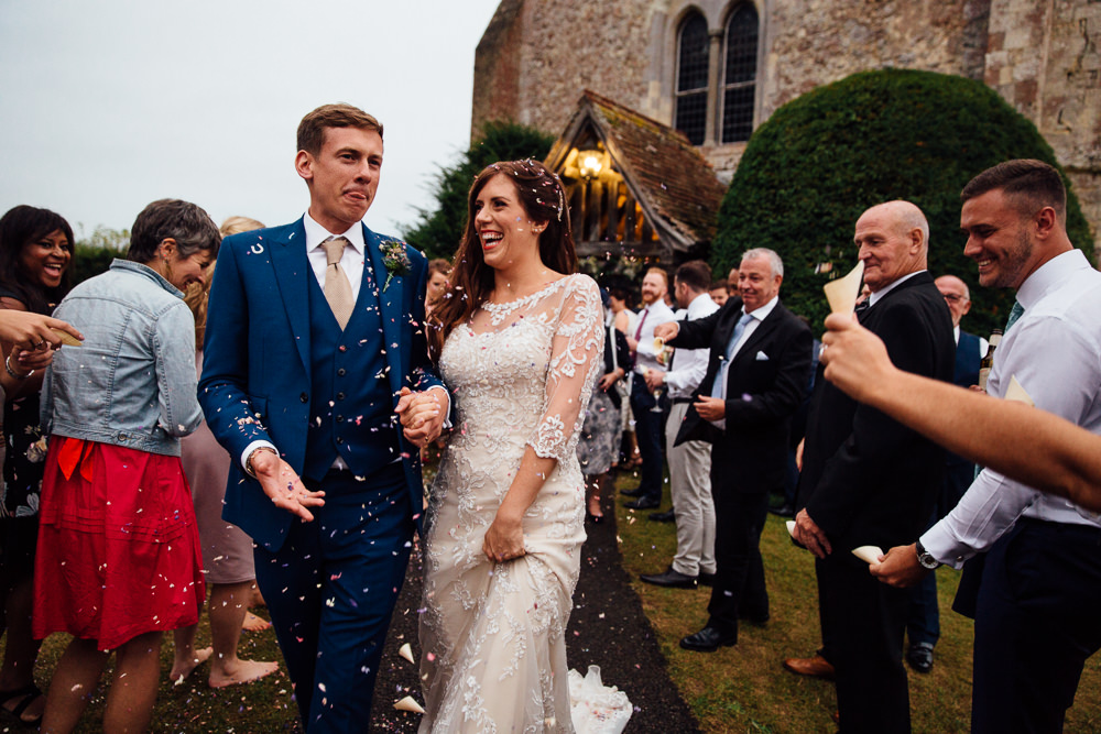 confetti bilsington priory kent wedding photographer