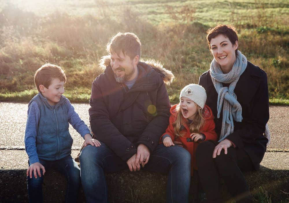 FAMILY BEACH PORTRAIT KENT FAMILY PHOTO SHOOTS