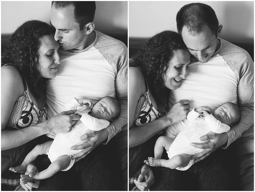 NEWBORN BABY AND PARENTS PORTRAIT KENT PHOTOGRAPHER