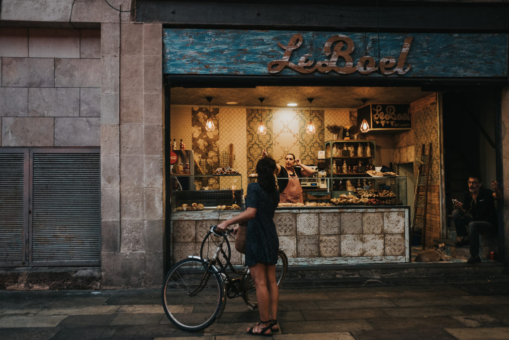 street photography barcelona food market las ramblas