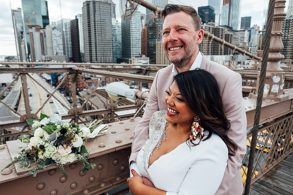LONDON WEDDING PHOTOGRAPHER BROOKLYN BRIDGE