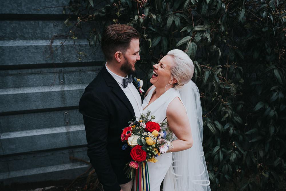LONDON WEDDING PHOTOGRAPHER SULLINGTON MANOR KENT BRIDE AND GROOM PORTRAIT