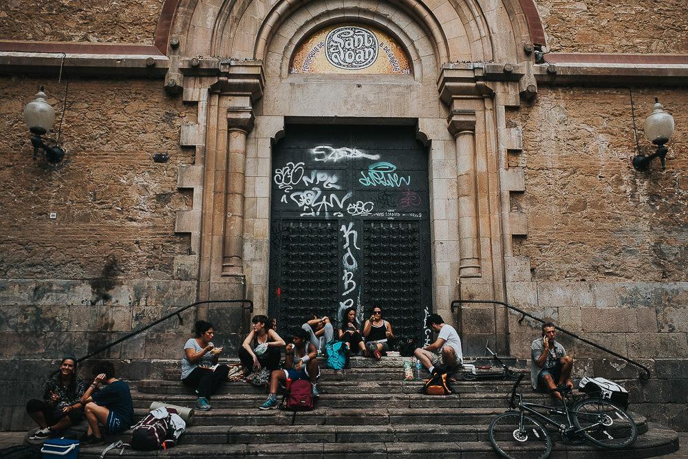 KENT PHOTOGRAPHER BARCELONA TRAVEL PHOTOGRAPHY SAINT JOAN CHURCH