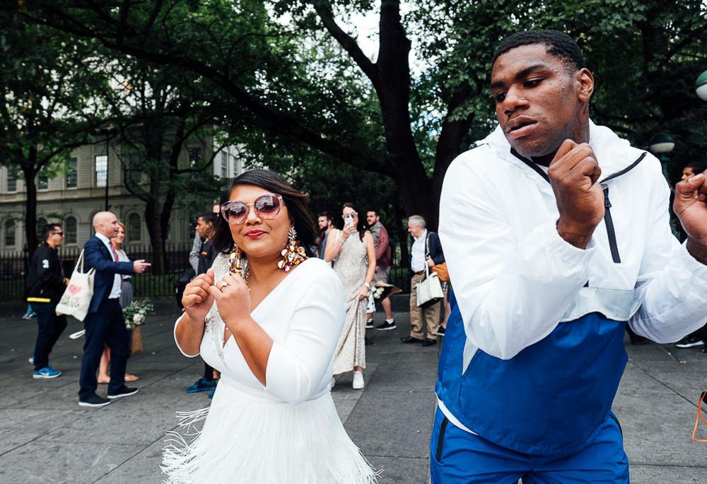 KENT PHOTOGRAPHER NYC NEW YORK WEDDING PHOTOGRAPHY STREET DANCE BRIDAL PORTRAIT