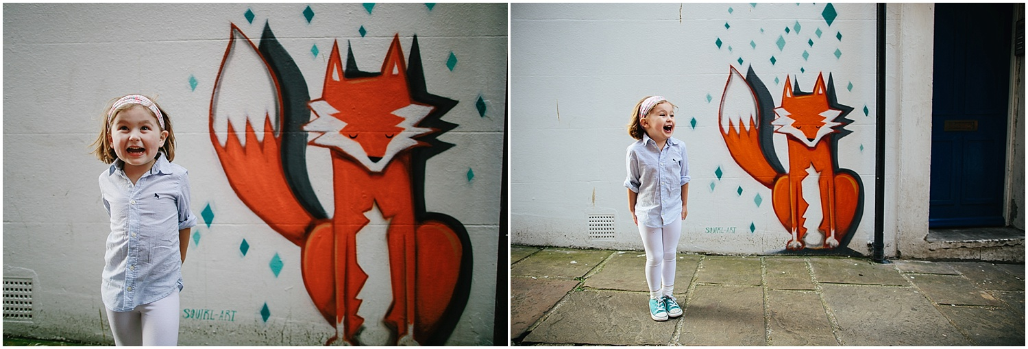 Childrens Family Photographer Folkestone Googies Fox Graffiti