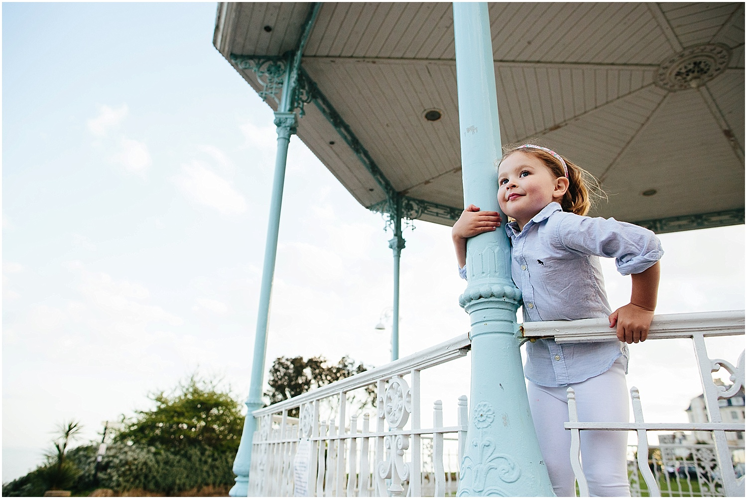 Childrens Family Photographer Folkestone The Leas Bandstand