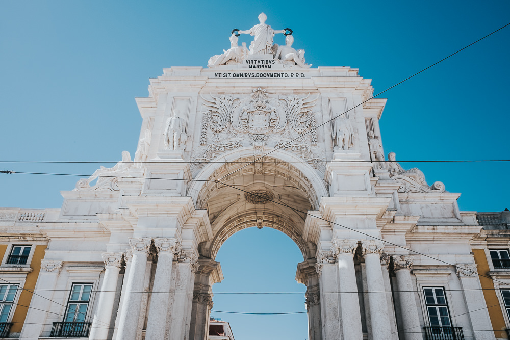 Praça do Comércio, lisbon lisboa portugal travel photography
