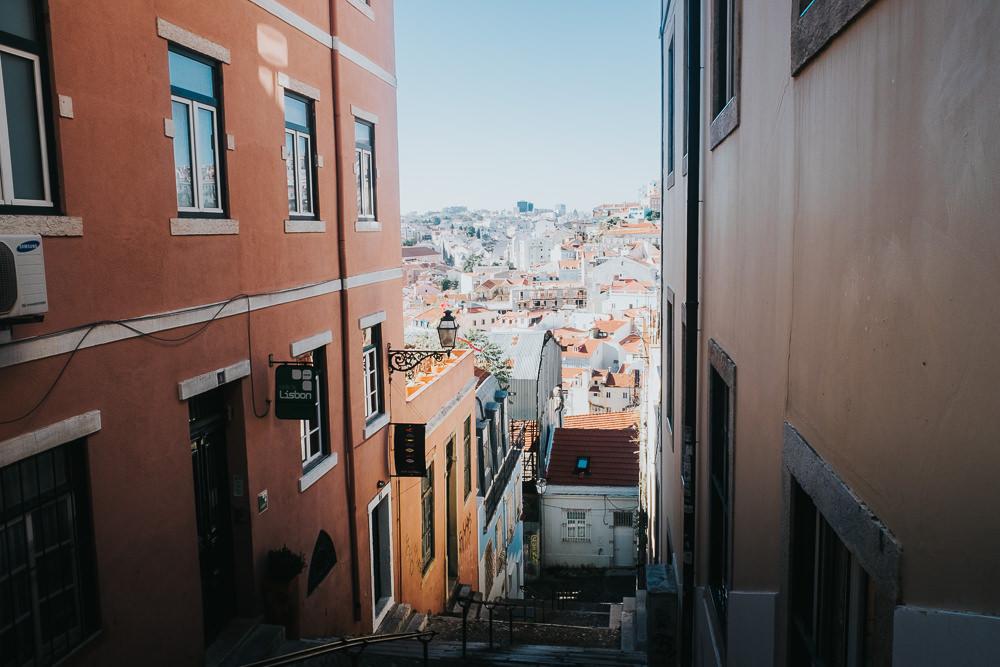 alfama streets, lisbon lisboa portugal travel photography