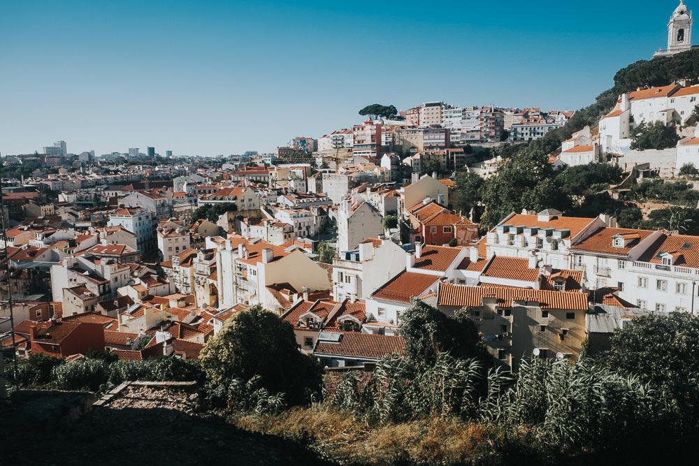 alfama view, lisbon lisboa portugal travel photography