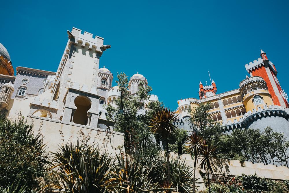 Sintra, lisbon lisboa portugal travel photography, palacio de pena