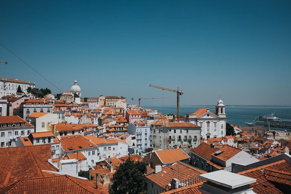 lisbon lisboa portugal travel photography, view, miradouro