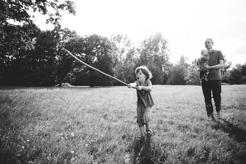 BALHAM LONDON FAMILY PHOTOGRAPHY - BOY BLACK AND WHITE PORTRAIT TOOTING COMMON