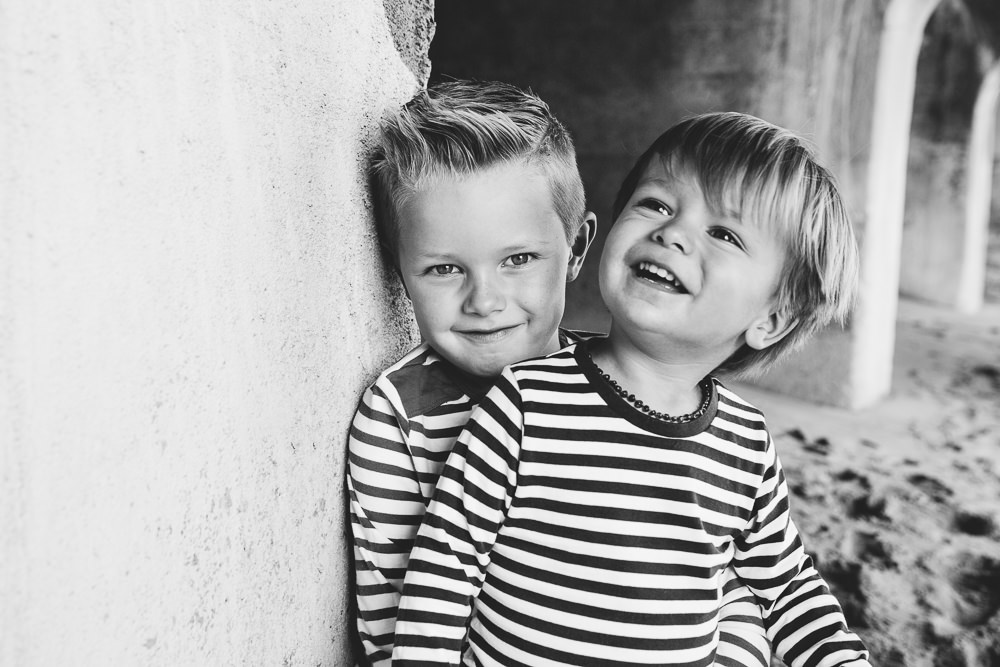 Little boys brothers portrait - Family Photographer Kent