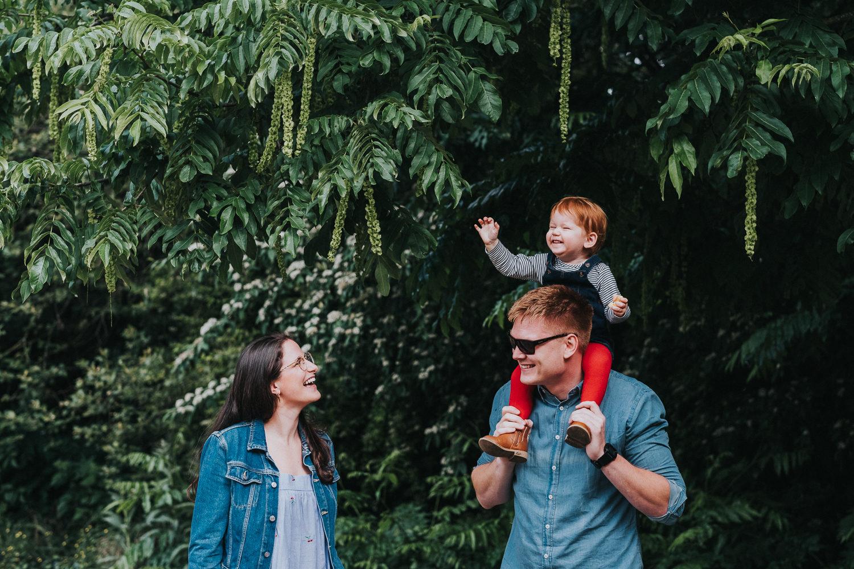 peckham family photo shoot park photography in london