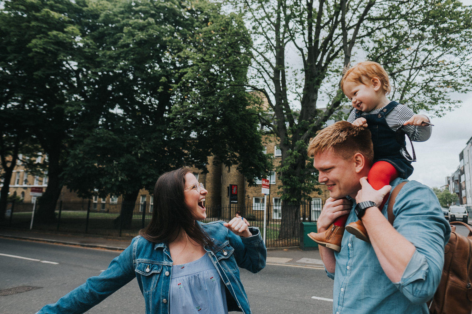 peckham family photo shoot park photography in london