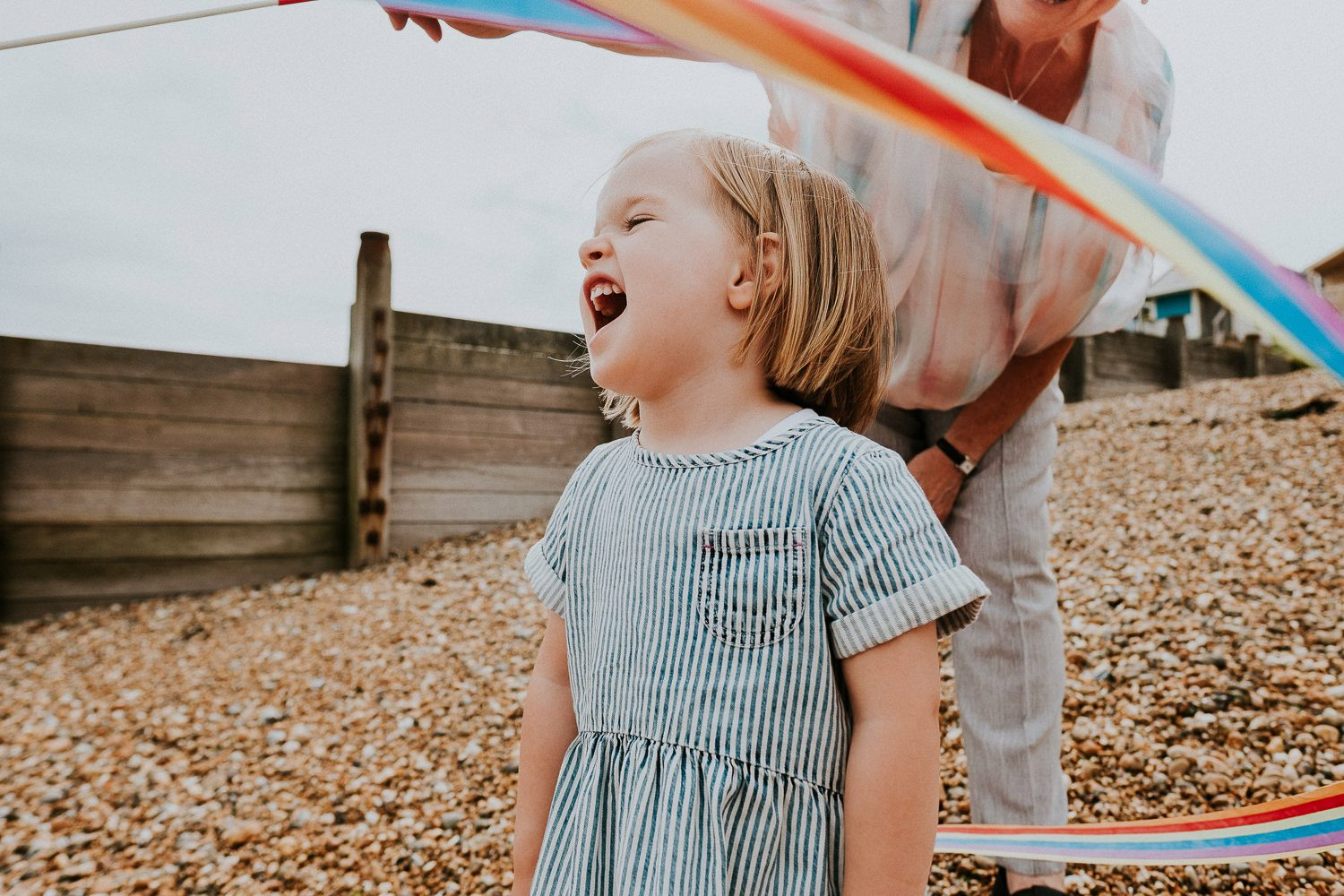 BEACH PHOTOGRAPHY WITH CHILD IN WHITSTABLE