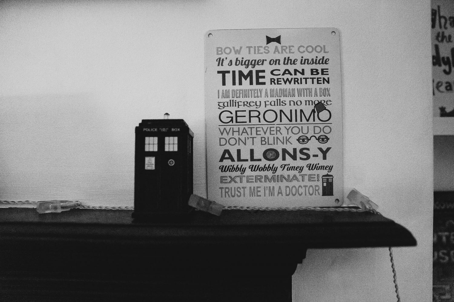 doctor who sign day in the life photography
