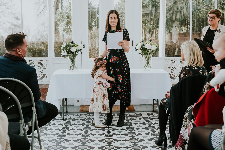 horniman museum conservatory london christening photography speech woman
