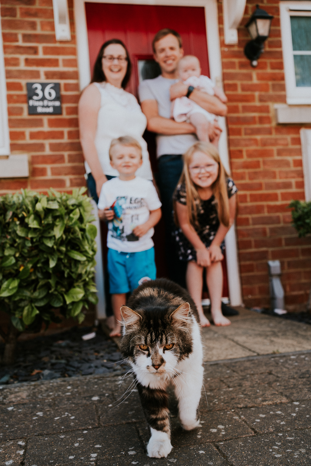 London family photography 2020 doorstep shoot portrait in kent