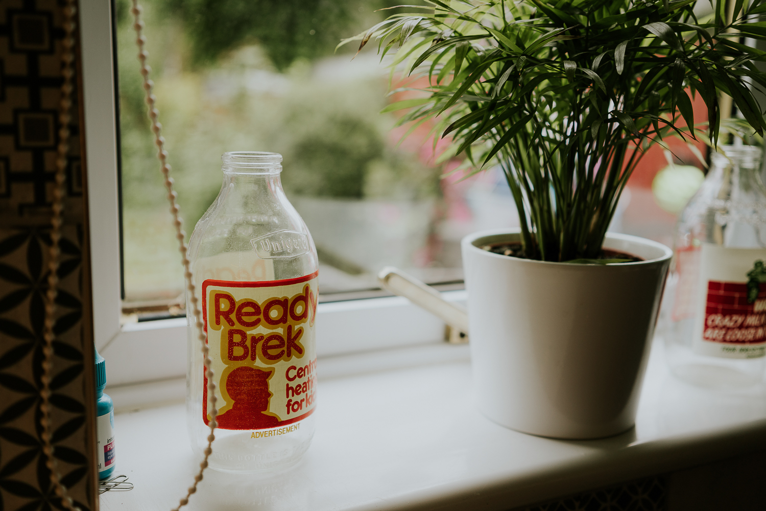 day in the life photo shoot Ready Brek milk bottle kitchen retro decor