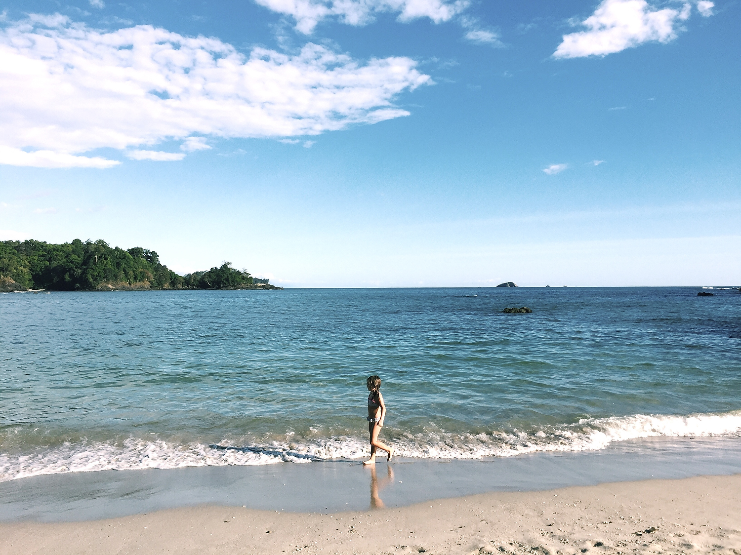 awesome iphone photos of your kids costa rica beach scene