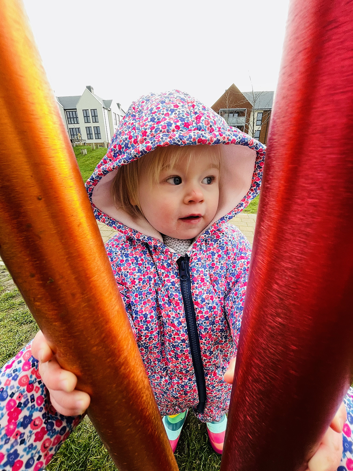 wide angle child at playground - awesome iphone photos of your kids