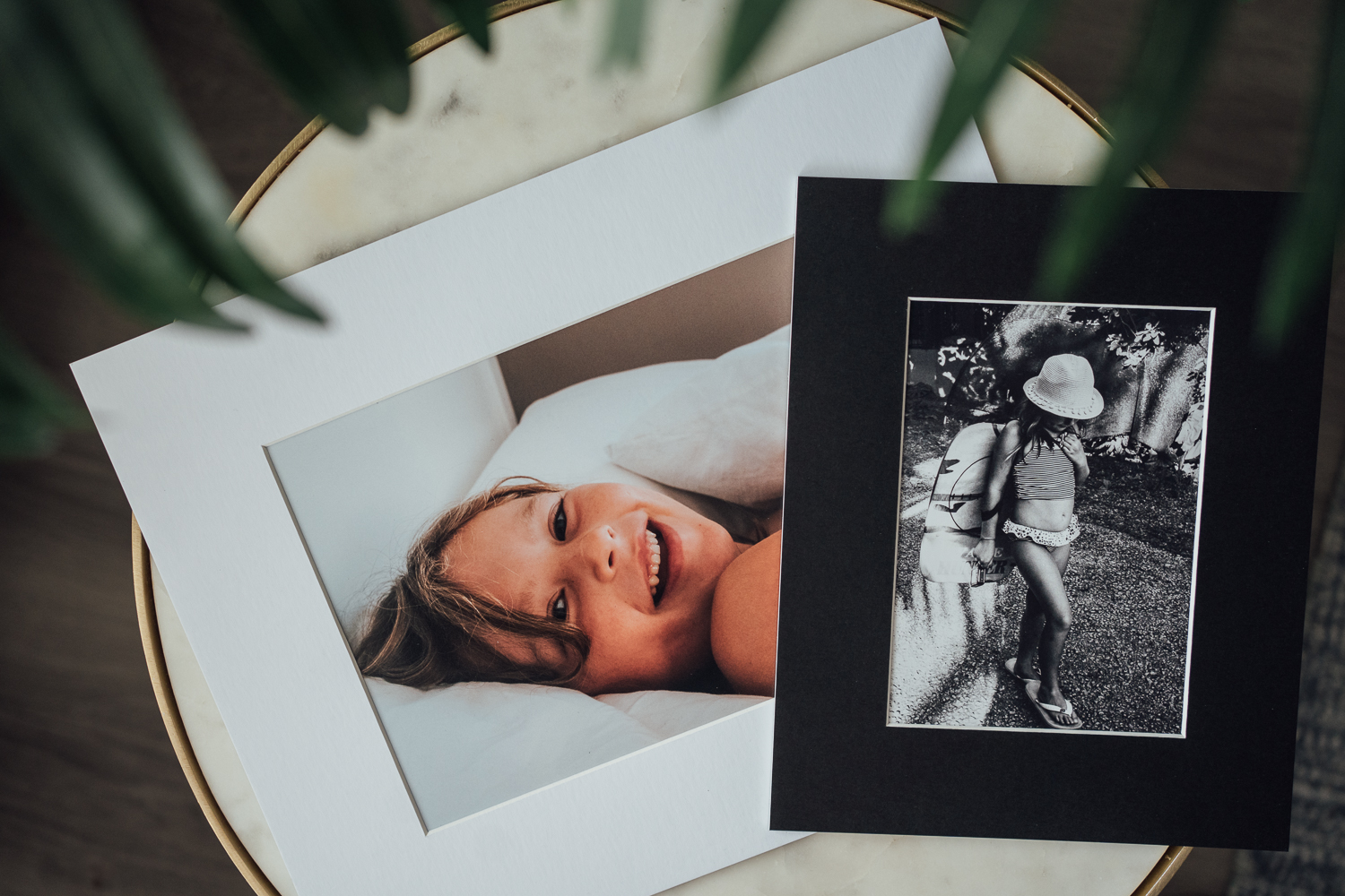 ORGANISING AND PRINTING YOUR PHOTO FRAME CHEVRON SAMPLES DISPLAY ON COFFEE TABLE WITH PLANT IN HOME